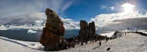 Antarctica cruises Seabourn: Half Moon Island cruise
