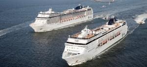 MSC cruises twee schepen