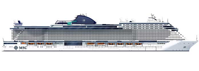 MSC Seashore © MSC Cruises