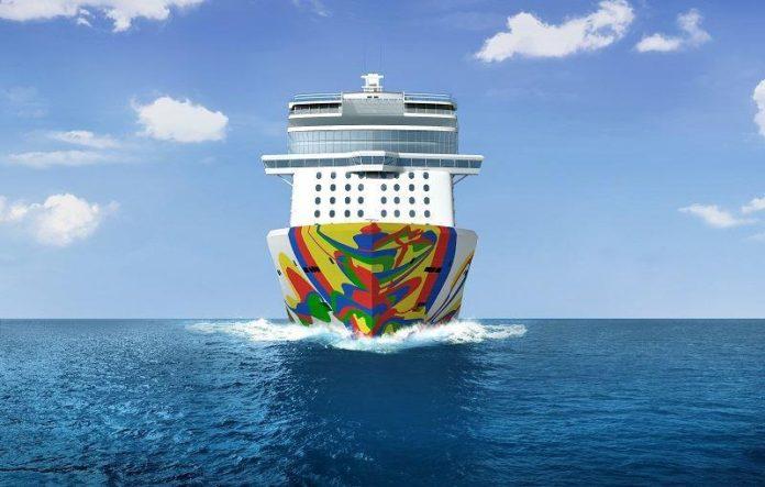 De Norwegian Encore komt in oktober 2019 in de vaart © Norwegian Cruise Line