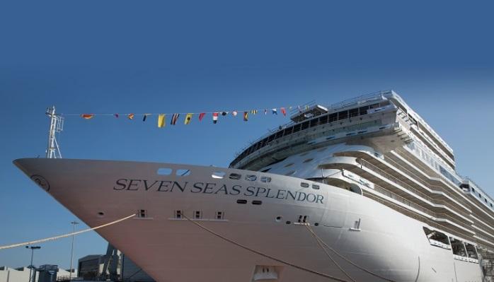 Seven Seas Splendor opgeleverd en in de vaart