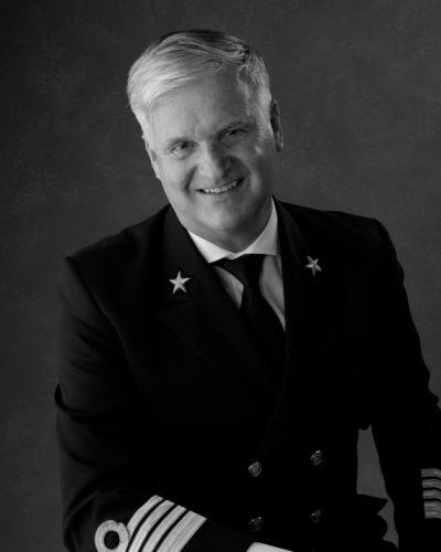 Kapitein Sybe de Boer van de Nieuw Statendam © HAL