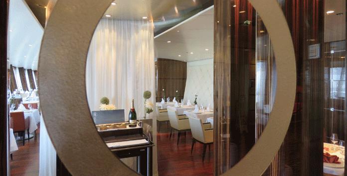 Het à la carte specialiteitenrestaurant Rossini op de Aidadiva © Nico van Dijk