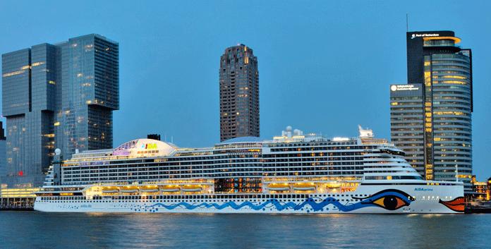 Cruises met de Aidaprima vanuit Rotterdam © Aida Cruises