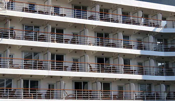 Suites met balkon op de Seven Seas Explorer © Nico van Dijk