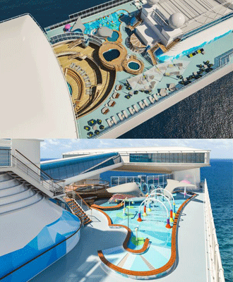 The Reef op de Caribbean Princess © Princess Cruises