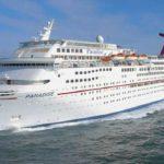 Carnival stoot 4 schepen af