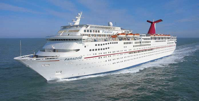 Carnival Paradise © Carnival Cruise Line.