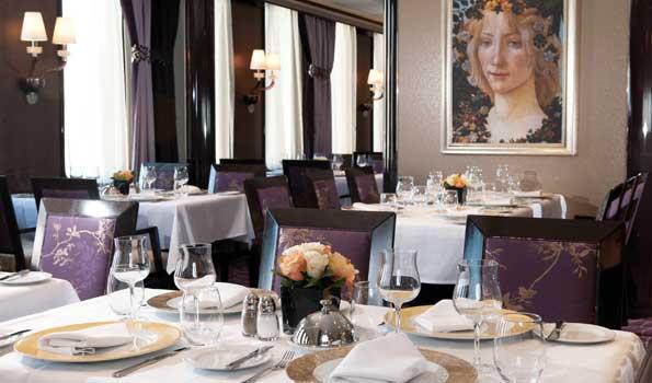 Costa Cruises Boticelli restaurant