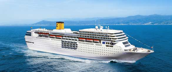 Costa Cruises neoRomantica slow cruise