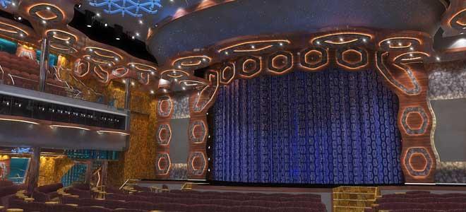 Costa Diadema theater
