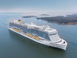 De nieuwe Costa Smeralda © Costa Cruises