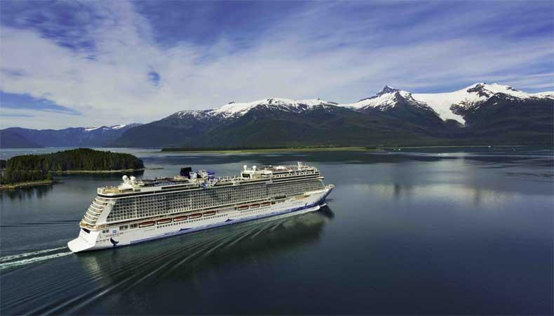 Cruise naar Alaska met de Norwegian Bliss, hier op weg naar Ketchikan © Norwegian Cruise Line