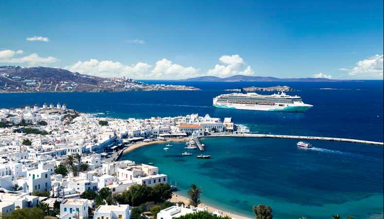 Cruise naar Mykonos met Norwegian Cruise Line © Norwegian Cruise Line