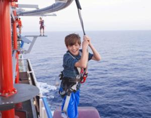 Ga lekker cruisen met kinderen. Aan boord is van alles voor ze te doen. ©  CLIA