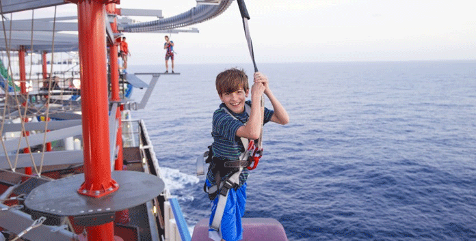 Cruisen met kinderen