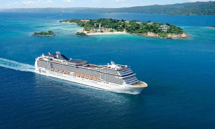 Het cruiseschip MSC Magnifica van MSC Cruises is het vierde schip in de Musica-klasse © MSC Cruises