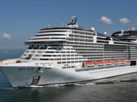 Het 4-sterren cruiseschip MSC Meraviglia © Bernard Biger STX France/MSC Cruises