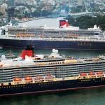 Wereldcruises met Cunard met Queen Mary 2, Queen Elizabeth en Queen Victoria