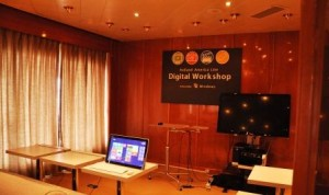 digital workshop cruiseschip Prinsendam Holland America Line