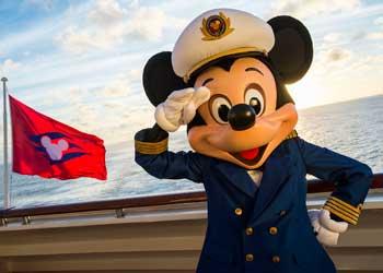 Dsiney Cruise kapitein Mickey