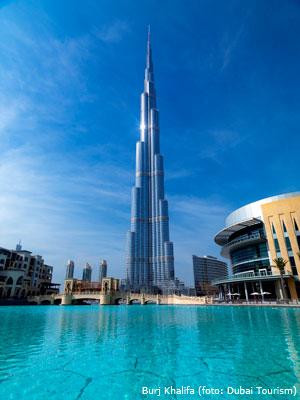 Dubai cruises: Burj Khalifa