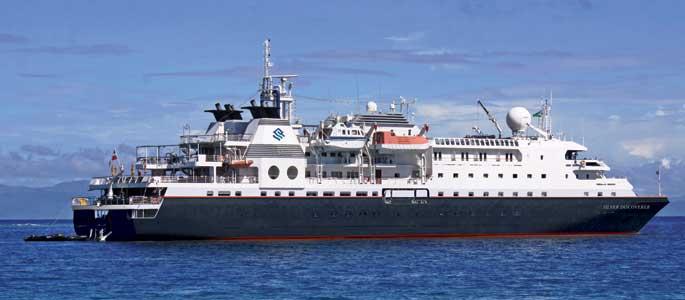Expeditiecruises Silversea Discoverer