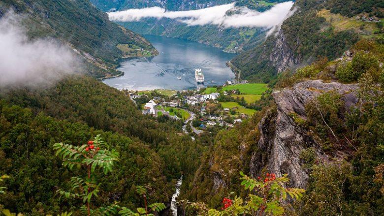 Noorwegen ontdekken op een voormalige postschiproute