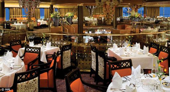 HAL MS Eurodam Rembrandtrestaurant