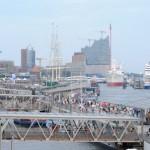 Cruise-event tijdens de Hamburg Cruise Days