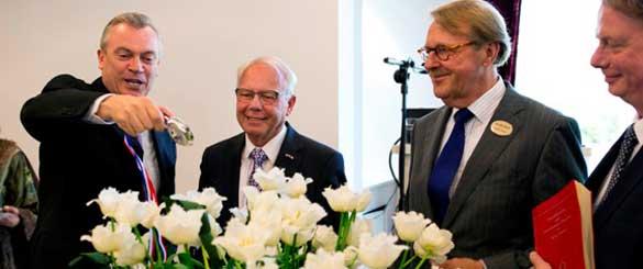 Holland America Line krijgt eigen tulp in Keukenhof