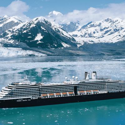Alaska-cruises van Holland America Line in 2021: HAL met 6 schepen naar Alaska en Glacier Bay