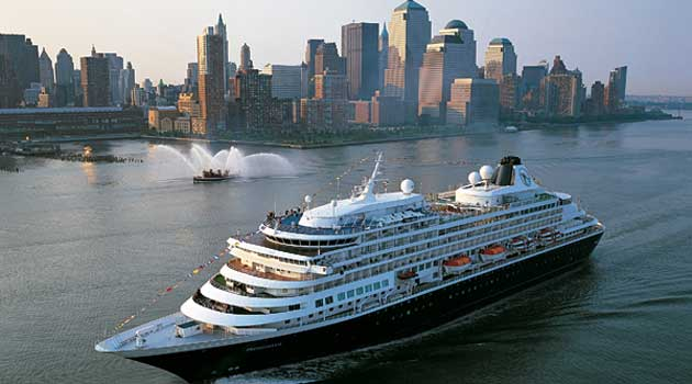 ms Prinsendam bij New York