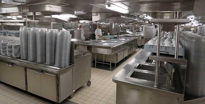 Koken voor 7200 man op de MSC Meraviglia