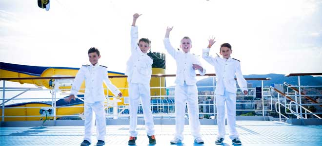 Captain for a Day kinderpakketten bij Costa Cruises
