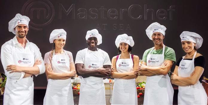 Masterchef At Sea bij MSC Cruises © MSC Cruises