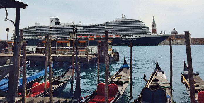 De Koningsdam maakt in de zomer van 2019 cruises in de Middellandse Zee. Venetië staat overigens niet op het programma. © Holland America Line/Aviareps