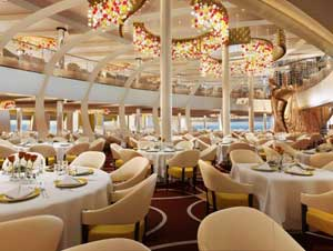 MS Koningsdam Main Dinner Room