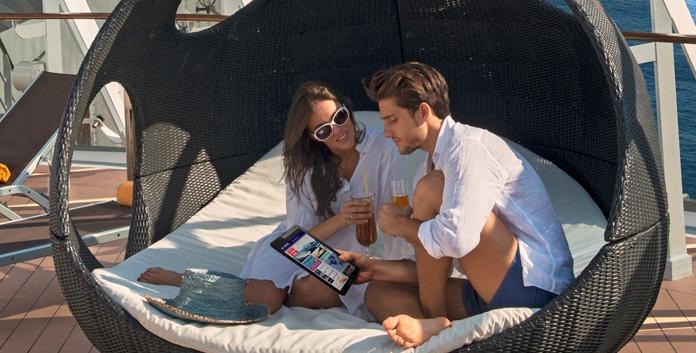 MSC Cruises introduceert digitale persoonlijke assistent Zoe. © MSC Cruises
