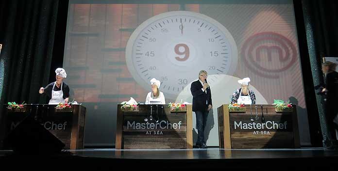 Robert Kranenborg deelde zijn keukengeheimen tijdens een demonstratie van MSC Masterchef at Sea © Nico van Dijk