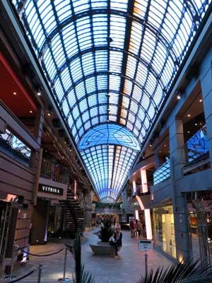 LED-plafond van de Galleria Meraviglia © Nico van Dijk