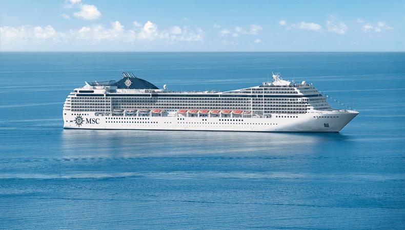 MSC Poesia maakt in 2022 en 2023 twee MSC wereldcruises. © MSC Cruises