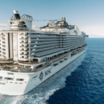 MSC Seaside maakt cruises in de Middellandse Zee