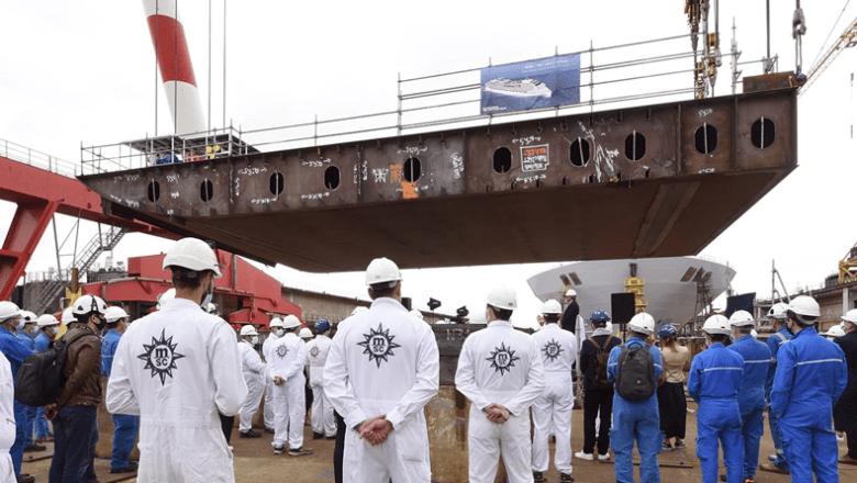 Kiel gelegd voor nieuwe World-klasse MSC-schepen