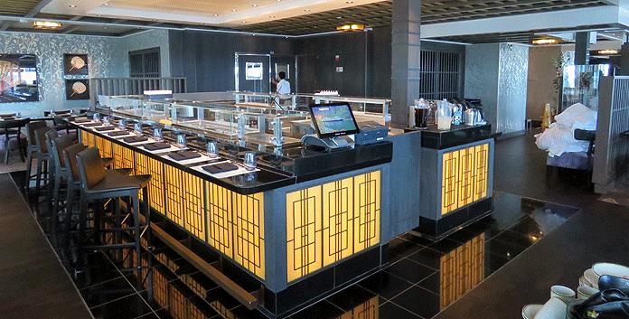 De Nami Sushi-bar op de Nieuw Statendam © Nico van Dijk