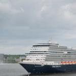 Nieuw Statendam maakt maiden call in Amsterdam