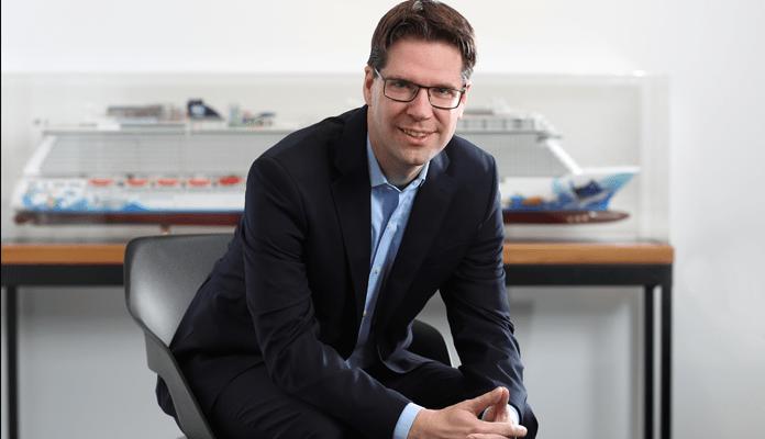 Kevin Bubolz, Vice President & Managing Director Europe van Norwegian Cruise Line © Norwegian Cruise Line