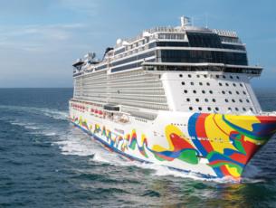 De nieuwe Norwegian Encore © Norwegian Cruise Line.