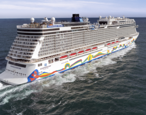 De nieuwe Norwegian Encore, het laatste schip in de Breakaway-klasse ©  Norwegian Cruise Line