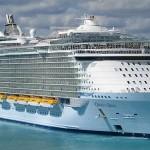 Meevaren op het grootste cruiseschip ter wereld